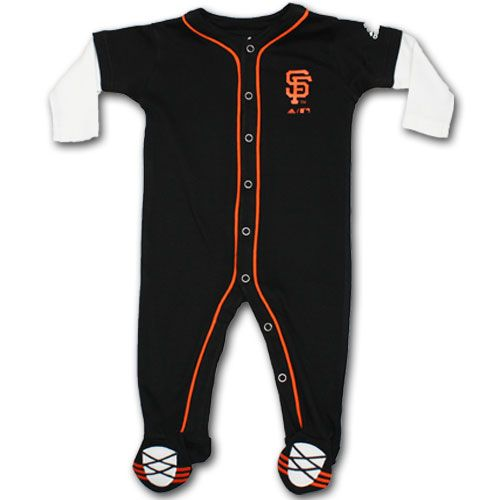 b971ca5d1 Baby Sf Giants Jersey | San Francisco Giants Baby Sleeper | Baby girl  outfits❤ | Baby sleepers, Baby boy outfits, Cute baby boy outfits