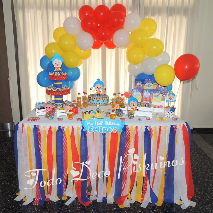 Plim Plim Birthday Party Ideas