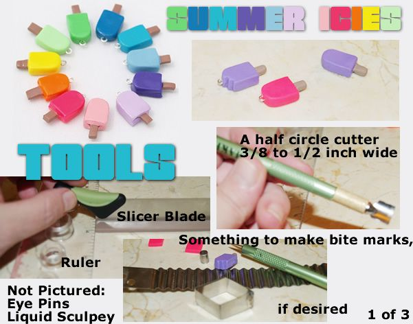 how to make simple clay charms