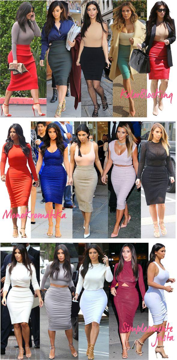 Kim Kardashian's best 60 outfits in 2014 by Fashionismo