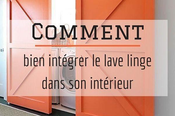 25 beste idee n over interieur staldeuren op pinterest - Integrer machine a laver dans salle de bain ...