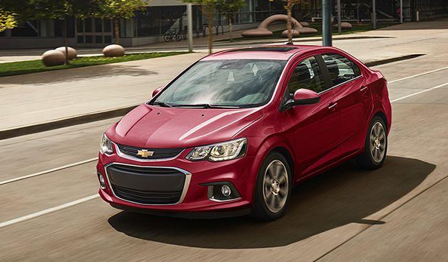 Sonic 2017 Auto Compacto Sedan Y Hatchback Chevrolet Mexico