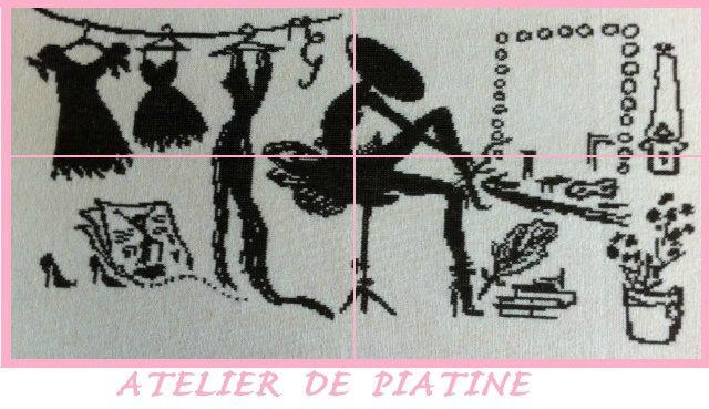 * Le Vestiaire Enchanté Partie 1 * + free - L' Atelier de Piatine