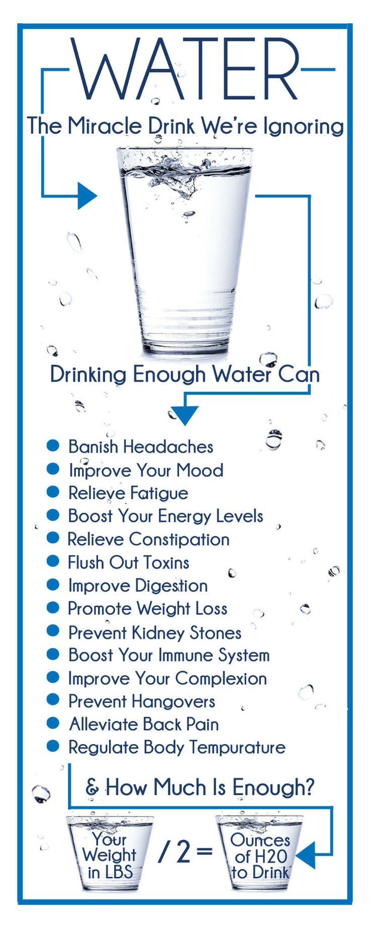 Are you drinking enough water? The health benefits of drinking water are well…