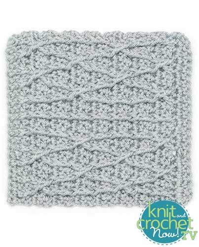 Knitting Amp Crochet Patterns Free Download : Free crochet cables pattern featured in season of knit