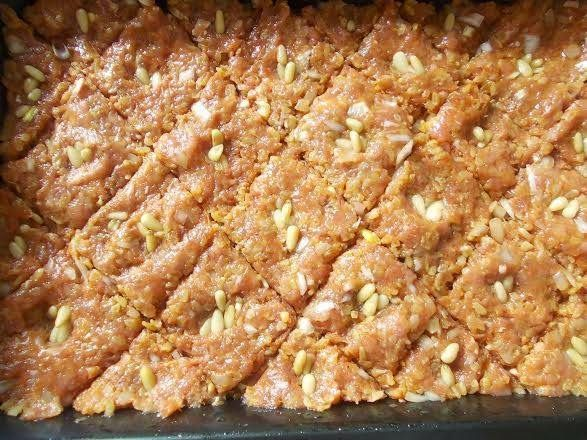 Szír bulguros hús - Kibbeh ~ Éhezésmentes Karcsúság Szafival