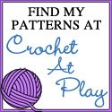 Crochet At Play: 26,000 Free crochet patterns and counting. If you are looking for free patterns or tutorials this is a GREAT site!!