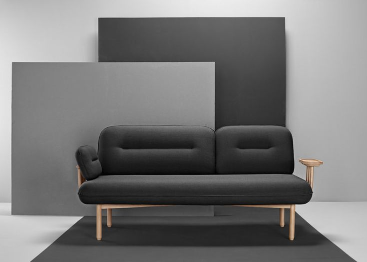 Wooden Tray Replaces One Arm Of LaSelva 39 S Cosmo Sofa