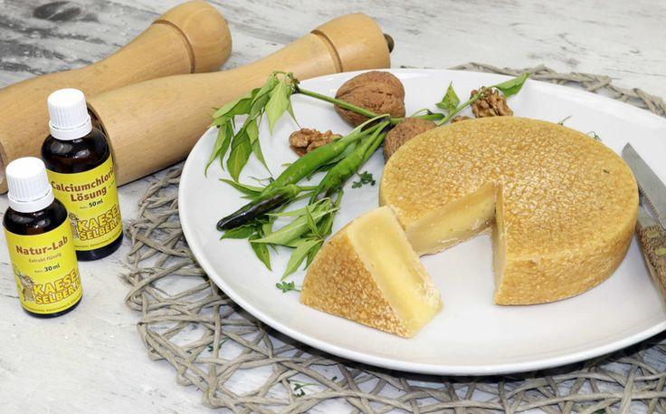 Käse selber machen - Hartkäse (Bergkäse) - Kaese-selber.de