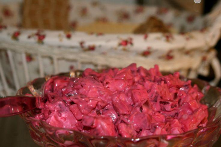 Recept vegansk rödbetssallad