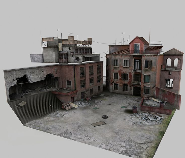 ArtStation - Buildings, Mark Wilks