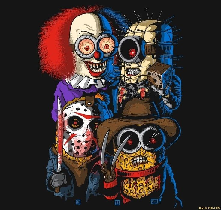 funny jason voorhees | minions,Halloween,horror movies,Jason Voorhees,freddy krueger,pinhead ...