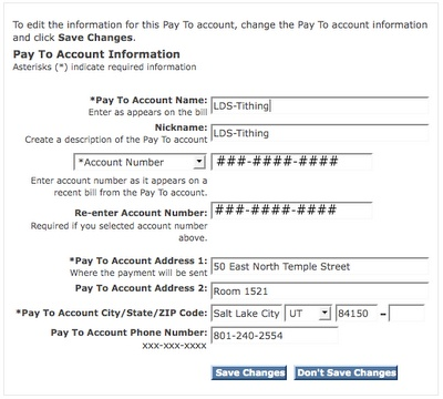 The Amblings and Ramblings of Nickolas Pickolas: How to Pay LDS Tithing Online