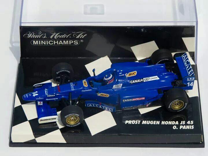 Olivier Panis, Prost Mugen Honda JS45, 1997, Minichamps 1/43