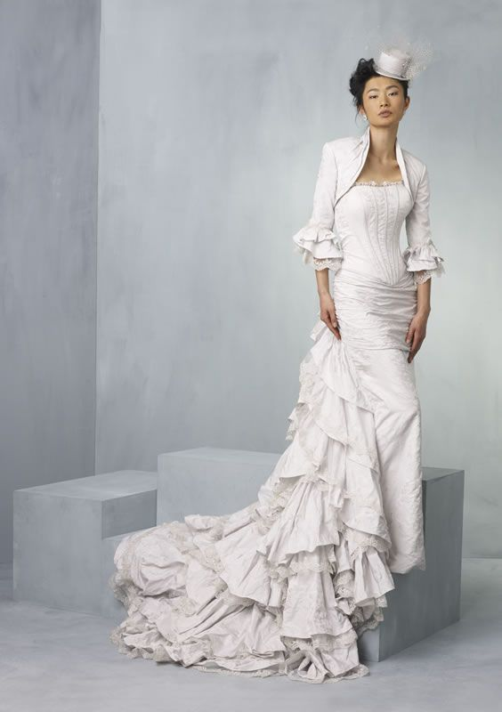 Claridges gown from the stunning Ian Stuart Supernova wedding dress collection for 2013 #provestra