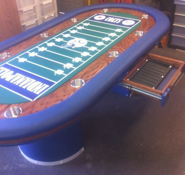 Football Stadium Lights End Table: 84 Best Sports Themed Poker Tables Images On Pinterest