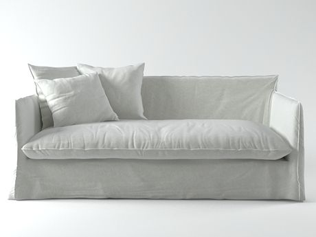 Gervasoni Ghost 15 Sofa 3d model | Paola Navone