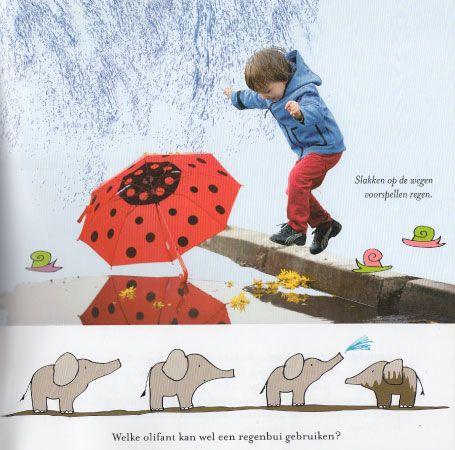 Meer over het weer – informatief prentenboek voor jonge kinderen. Heel erg leerzaam voor jonge kinderen, maar vooral leuk. Leergierige kinderen die alles over de wereld willen weten zullen smullen van dit boek!