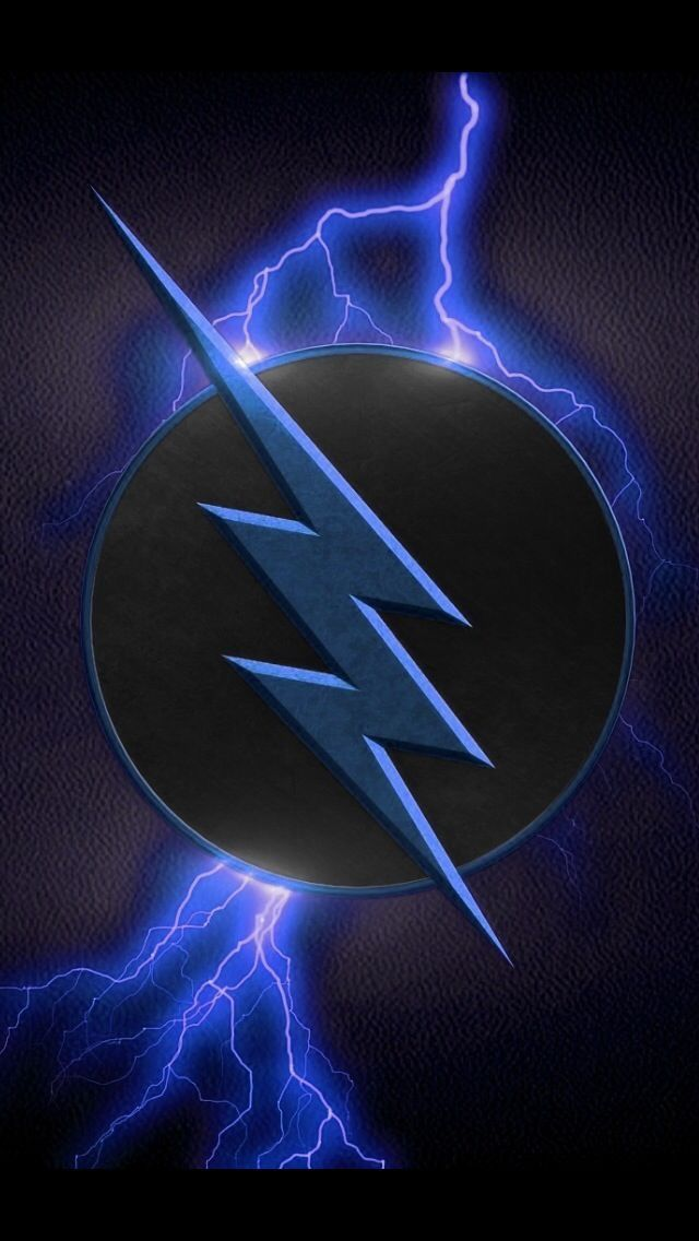 The Blue Flash The Speedforce The Flash Flash Wallpaper