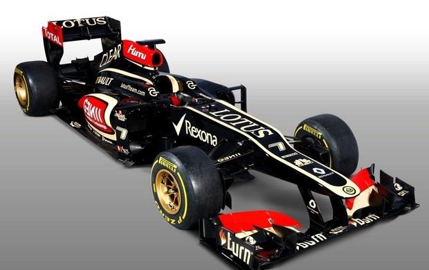 FÓRMULA 1 - LOTUS  -  Lotus E21 - lançamento do novo carro, o qual tem a seguinte inscrição na parte de trás: #ImSexyAndIknowIt (i´M SEXY AND i KNOW iT!) !!! Wow!!! (Foto: Divulgação)