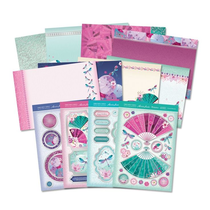 Dragonfly Dance - Deluxe Card Collection | Hunkydory Crafts