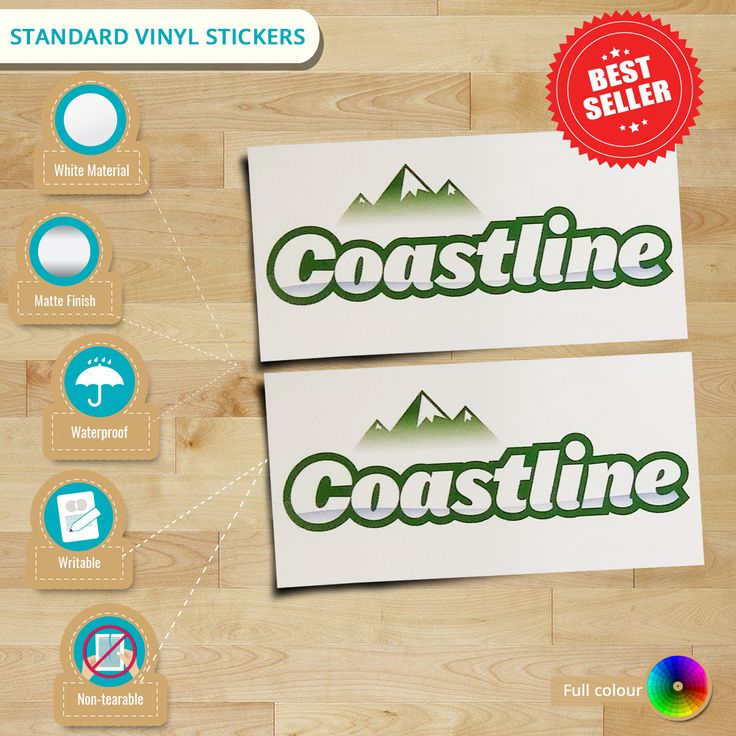 Ready to order? Get 10% OFF on any of our products including these #VinylStickers. Check us out now! #Infographic  #stickerprinting #outdoorstickers #stickersnz #Auckland