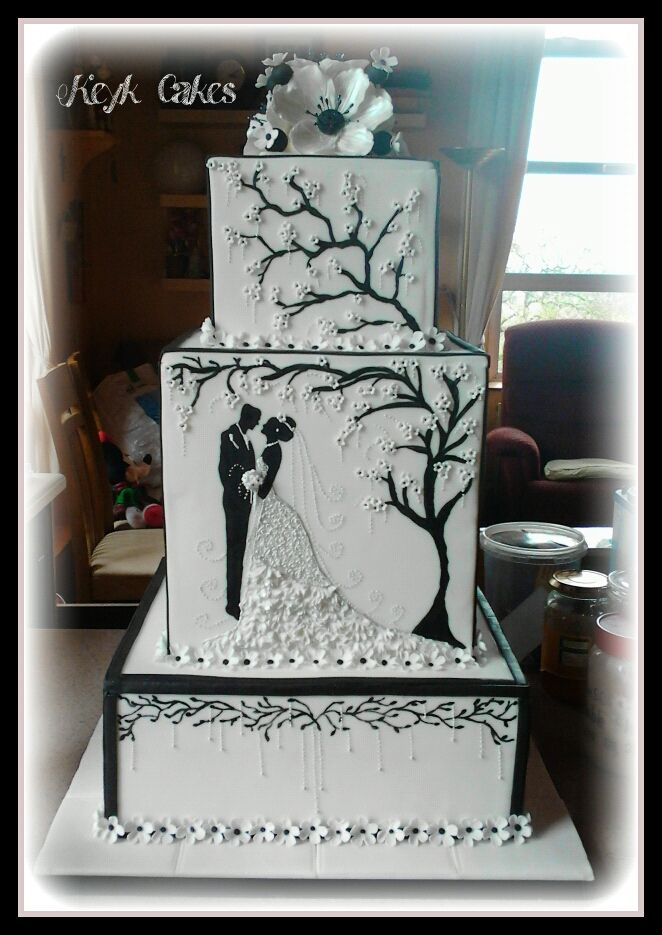 This is one of the most beautiful cakes I have seen. I love it!