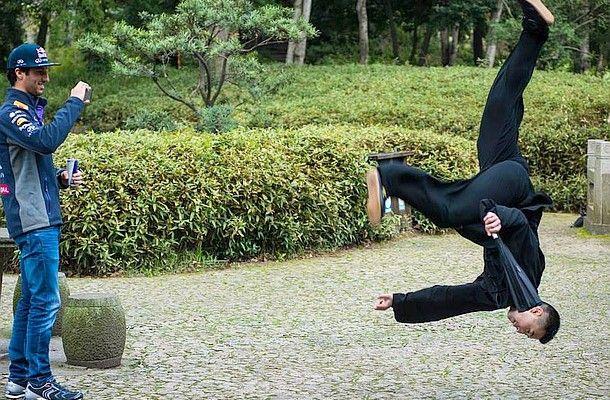 Daniel Ricciardo trénoval bojová umění.