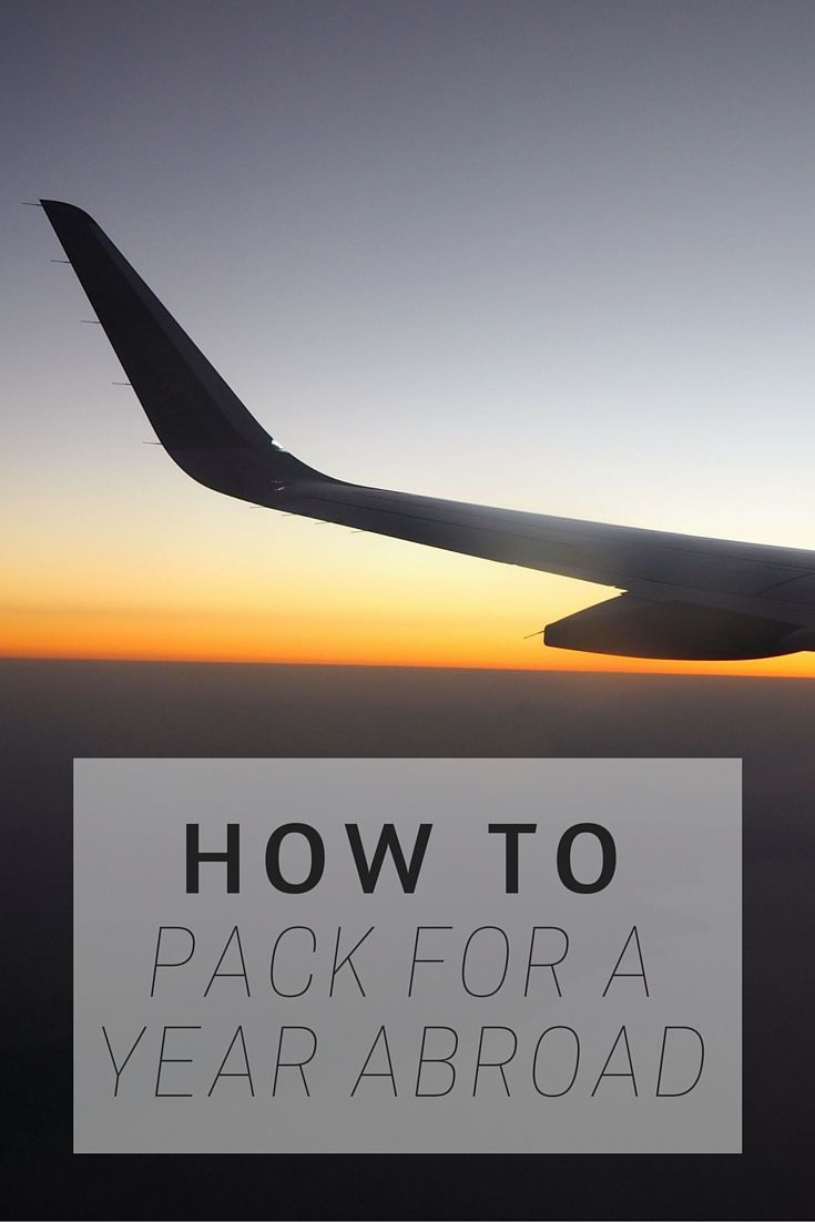 Travel Tips: How To Pack For A Year Abroad www.girlxdeparture.com