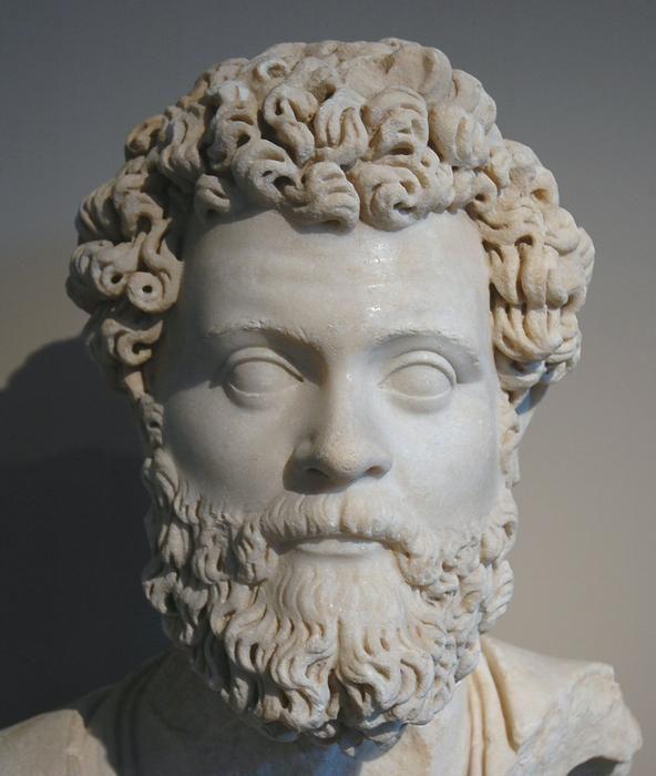 Septimius Severus. I love his Arch in the Roman Forum.
