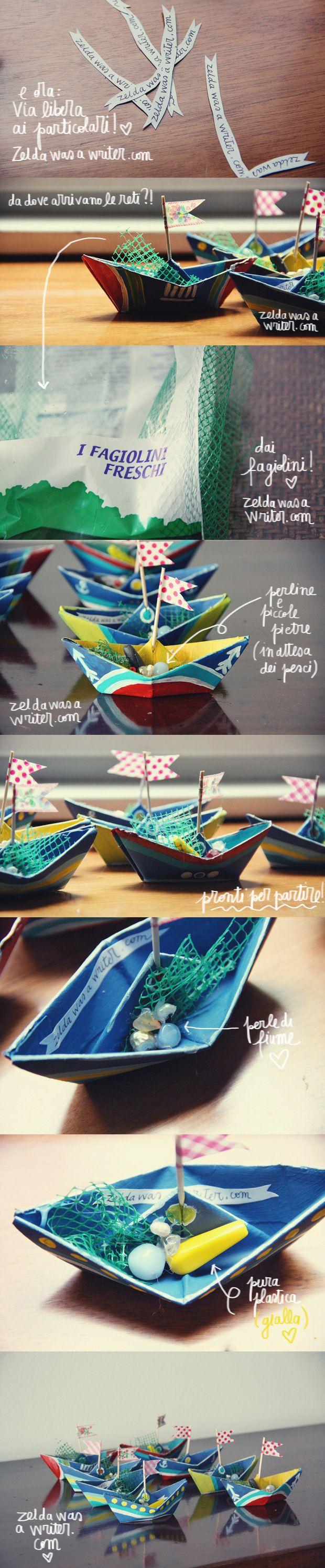 DIY: barchette di carta! | Zelda was a writer