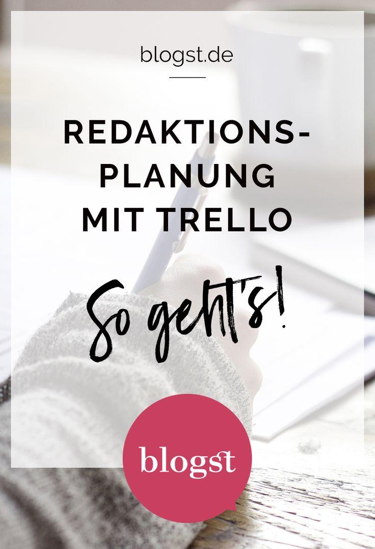 Lisa von mein feenstaub erklärt Euch heute Trello - damit wird die Redaktionsplanung und Organisation für den Blog einfach und übersichtlich!