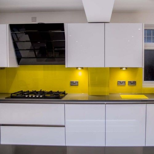 Coloured Splashbacks Home Ideas Pinterest Kitchens