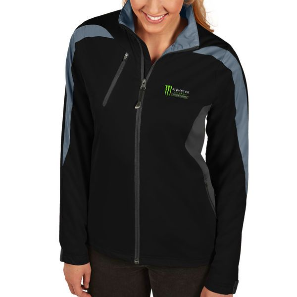 Women's NASCAR Antigua Black Monster Energy NASCAR Cup Series Discover Full-Zip Jacket - NASCAR.com Superstore