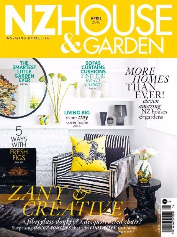 Nz House & Garden April 2016 Issue- Zany & Creative A Fibreglass donkey  #NzHouseandGarden #Fibreglasswork @NZHouseGarden #ebuildin