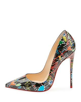 9b0c42e5c66 Christian Louboutin So Kate Loubitag Red Sole Pump