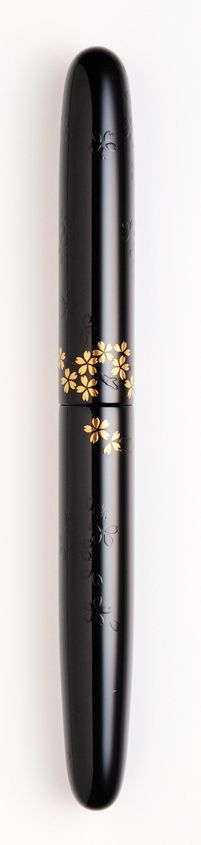 Nakaya Cherry blossoms in evening fountain pen capped