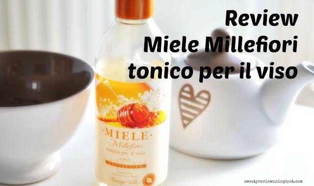 Sweety Reviews: [Review] Tonico Viso al Miele Millefiori di Bottega Verde