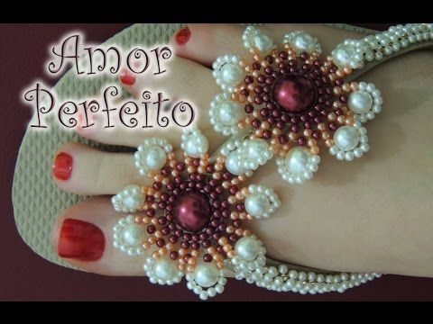 Let's think Summer! or these flower components could be used in other ways ~ Seed Bead Tutorials