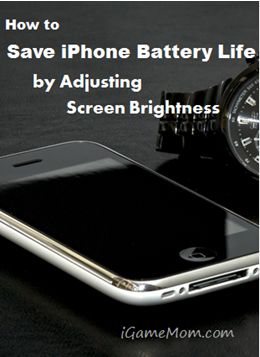 how to save iphone battery life how to save iphone battery by adjusting screen 19051