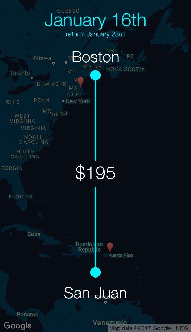 Flight from Boston to San Juan for $195 by Spirit Airlines #travel #ticket #deals #flight #BOS #SJU #Boston #San Juan #NK #Spirit Airlines