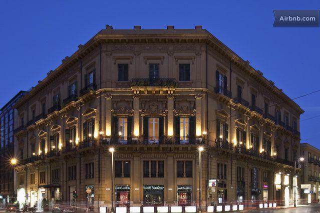 Suite d'epoca a Palazzo Tagliavia  in Palermo
