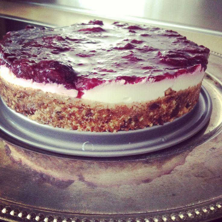 Gezonde taart recept van Sanne