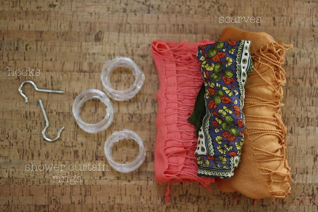 DIY// scarf, belt, and tights organizer: Amazing Diy, Organizations Ideas, Scarf Belt, Scarfs Organizations, Tights Organizations, Blog Locations, Scarfs Belts, Diy Projects, Arrange Organizations Scarfs