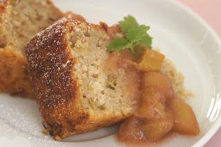 Veganpassion: Rhabarber-Mandelkuchen