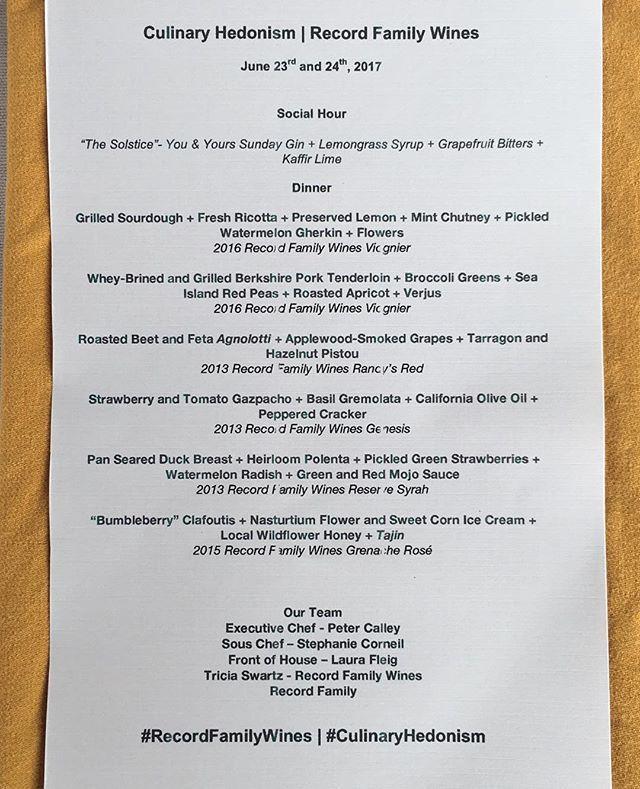 Almost time!  #CulinaryHedonism #recordfamilywines #SupperClub #ranchosantafe #SanDiego #la #sandiegoeats #sandiegofood #lafood #laeater #SdEats #sdfoodie #dinnerparty #winetasting #winedinners #tastingtable #tastingmenu #chefslife #ChefsofInstagram #bestofla #sandiegoeater #ranchosantafelocals #sandiegoconnection #sdlocals #rsflocals - posted by Peter Calley  https://www.instagram.com/culinaryhedonism. See more post on Rancho Santa Fe at http://ranchosantafelocals.com