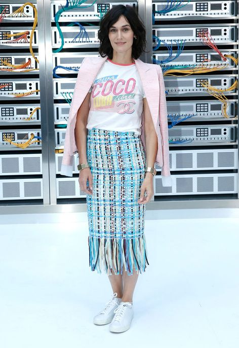 Clotilde Hesme au défilé Chanel