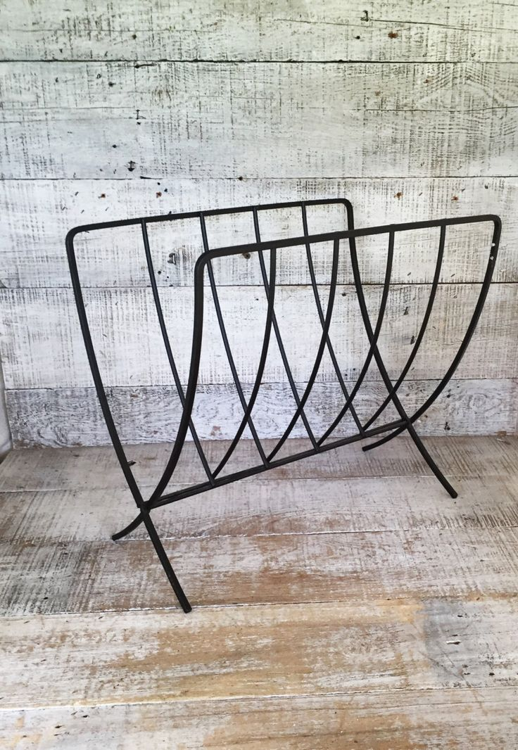Magazine Rack Mid Century Magazine Holder Danish Modern Magazine Rack Vintage Record Holder Folding Magazine Holder Magazine File by TheDustyOldShack on Etsy