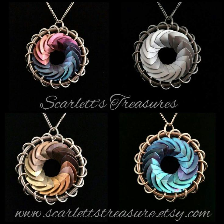 Jen Irwin #Scalemaille #Chainmaille