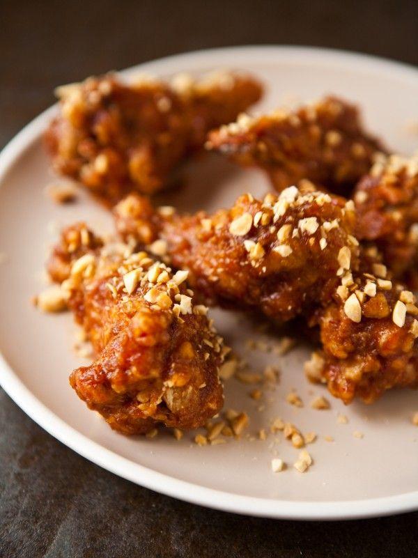 Korean Fried Chicken Wings | Korean Food | Pinterest